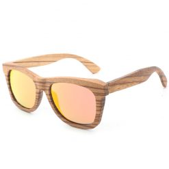 Classic Handmade Wood Grain Sunglasses Polarized Lenses for Women Men BA78